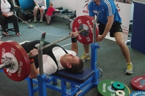 Charles Taylor- Powerlifting