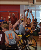 Jordan Bartley- Wheelchair Basketball