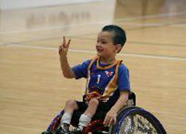 Eithan Leard- wheelchair basketball