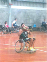 Corey Lawton- Wheelchair Basketball