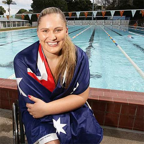 Maroochydore swimmer Marayke Jonkers has won a silver medal for Australia at the Beijing Paralympic Games.  - Cade Mooney/177853