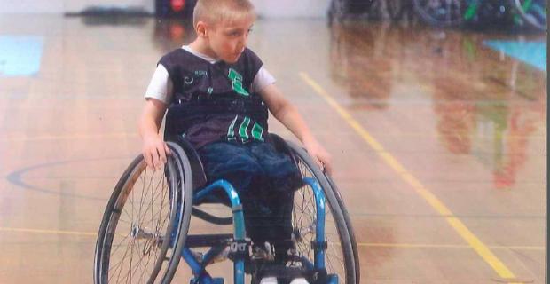 Travis Larkin-Wheelchair Basketball