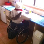 Dishes as accessible sink