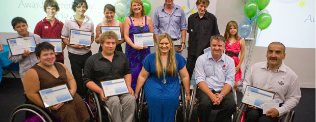 group of athletes receiving awards from Marayke Jonkers